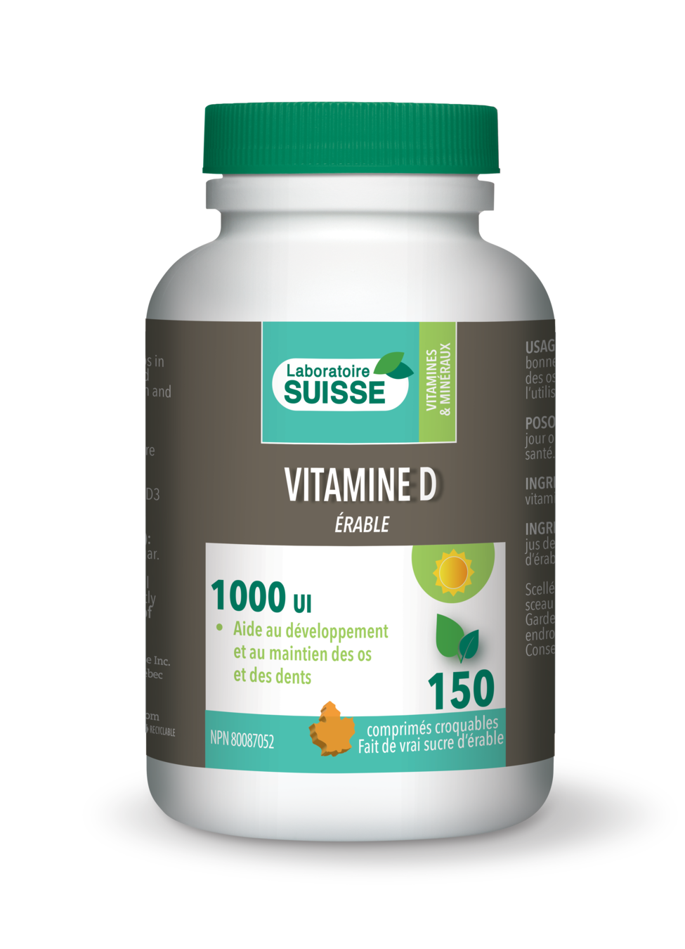 Vitamine D à l'érable